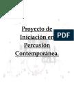 Proyecto de Percusión