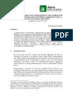 EL USO DE LA FUERZA EN CUMPLIMIENTO DEL DEBER POR PARTE DEL PERSONAL DE LAS FUERZAS ARMADAS Y DE LA POLICÍA NACIONAL DEL PERÚ.pdf