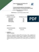 Formato de Prácticas de Laboratorio Electrónica II