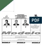 Papeleta Modelo (Caguas)