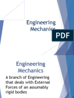 Engg Mech and Strength of Materials