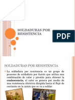 Soldadura Por Resistencia