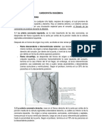 5. Cardiopatía Isquémica.