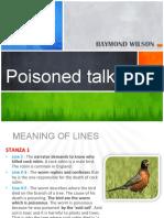 Poisoned Talk