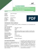 domumentacion toxilcologica del cloroformo.pdf