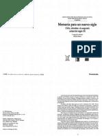 Memoria Para Un Nuevo Siglo. Chile Miradas a La Segunda Mitad Del Siglo XX - Mario Garces (Compilador)