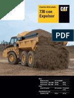 camión articulado CATERPILLAR - MODELO 730.pdf