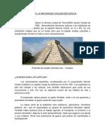 Civilización Azteca.