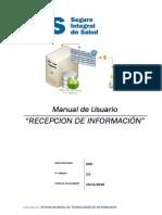Manual Usuario de Recepcion