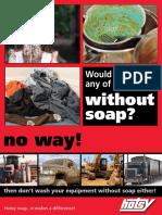 Detergent Brochure