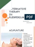 alternative therapy in puerperium.pptx