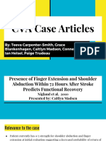 cva case articles