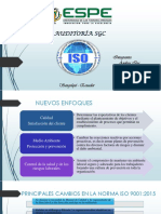 Diferencias Iso 2008 Iso 2015