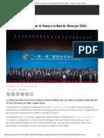 La India Boicoteó Foro de La Franja y La Ruta de China Por EEUU - HispanTV, Nexo Latino