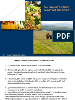 Oppurtunities in Agriculture Sector
