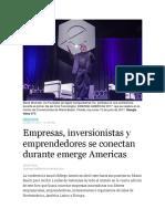 El Nuevo Herald - eMerge Americas