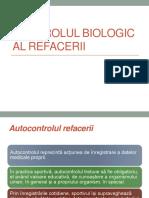 Curs IV - Controlul Biologic Al Refacerii