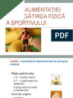 Curs II - Rolul Alimentației În Pregătirea Fizică a Sportivului - Lipide Si Saruri