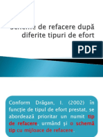 Curs VI - Scheme de Refacere Dupa Diferite Tipuri de Efort