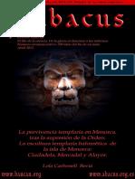 Abacus Núm Especial 2012-04. La Pervivencia Templaria en Menorca