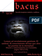 Abacus Núm Especial 2012-08. Lumen Ad Revelationem Gentium