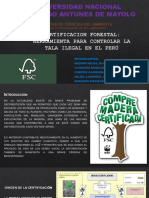 Certificaion Forestal