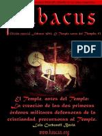 Abacus Núm Especial. El Temple Antes Del Temple 1-3