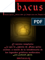Abacus Núm Especial. El Temple Antes Del Temple 3-3. El Secreto Templario