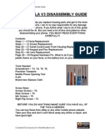 Motorola v3 Disassembly Guide