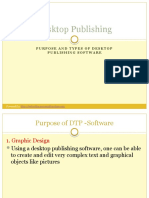 Purpose and Types of Dtp