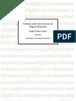 Trabajo Sobre Las Lecturas de Miguel Martínez