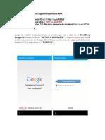 Instalar Google Play en BB10