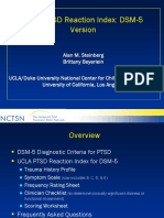 UCLA PTSD reaction checklist