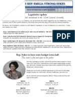 Sykes July ENL 2017 - Legislative Update