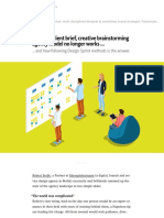 Why the Client Brief, Creative Brainstorming Agency Model No Longer Works …