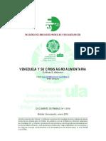 Venezuela y La Crisis Agroalimentaria