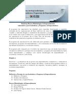 Laboratorios Para Incubadoras y Programas de Emprendedores
