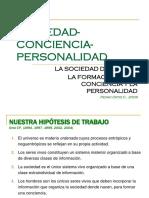 1 Sociedad Conciencia y Personalidad 2009