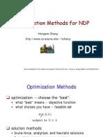 05 1 Optimization Methods NDP