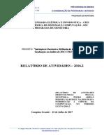 Relatório de Atividades Pedro Adrian 3
