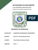 Informe de Mecanismos