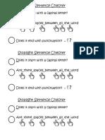 Stoplight Sentence Checker