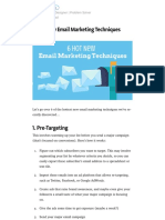 6 Hot New Email Marketing Techniques – Marketing and Growth Hacking