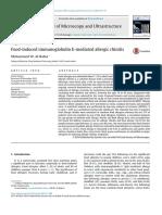 Journal Food Allergies cause Allergic Rhinitis