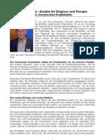 Biofeldtest - Ansätze für Diagnose und Therapie chronischer Krankheiten