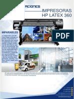 Ficha Tecnica Impresion Latex - Hp 360
