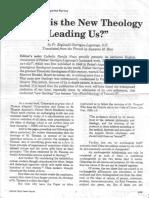 Where is the New Theology Leading Us__ - Garrigou-Lagrange, Reginald, O.P