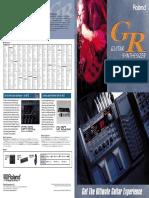 Guitar Synthesizer GR-20 [Brochure]