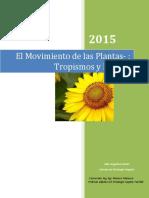 Movimiento de las plantas