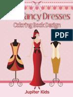 Cute Fancy Dresses_ Coloring Bo - Jupiter Kids